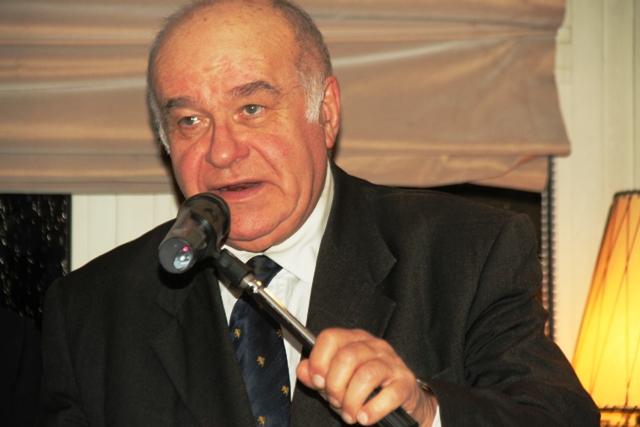 Valerio Zanone, presidente dell'Associazione