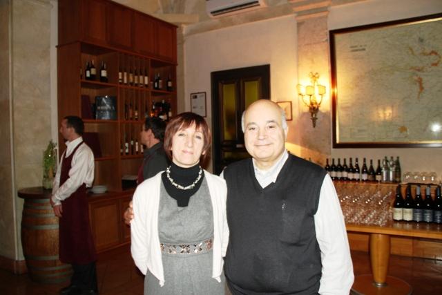 Daniela Rocca con Anacleto Bleve molto amico di Angelo