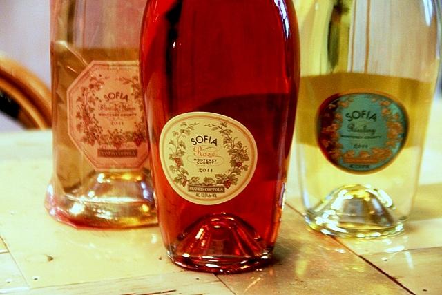 i vini dell'azienda in California