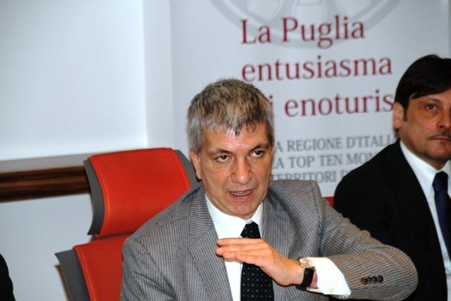 Nichi Vendola: cerchiamo di far crescere la dimensione delle aziende vitivinicole