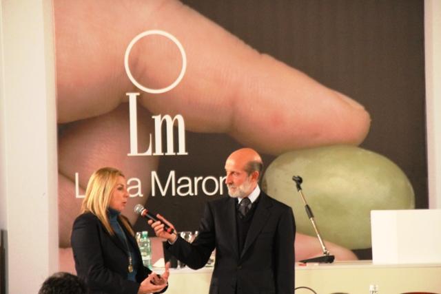 Luca Maroni e Claudia Alliata di Villafranca