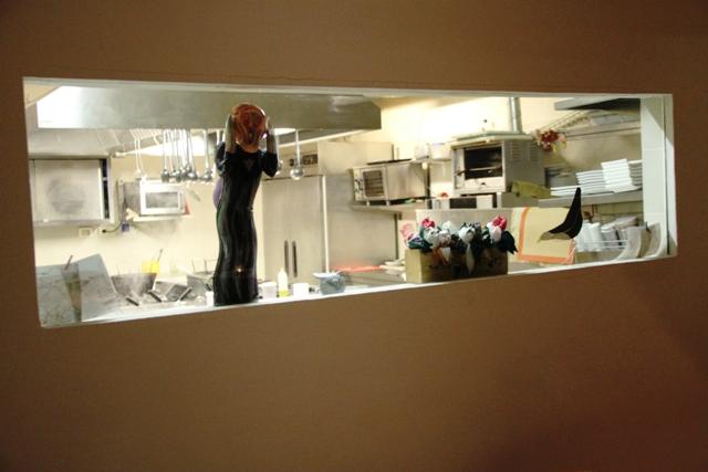 l'affaccio alla cucina