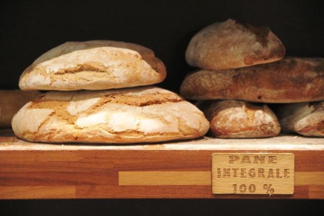 il pane con farine di Verna