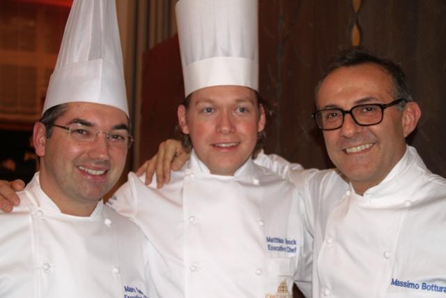 Massimo con Mattias chef resident del Kempinskj