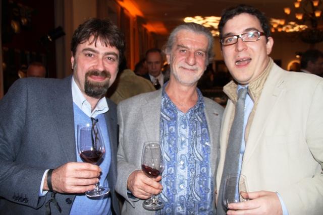 Bruno Petronilli, Francesco Illy, Federico Menetto