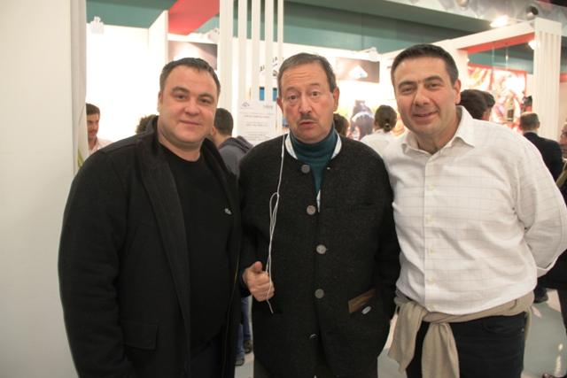 Fabio Baldassarre Toni Cuman e Simone Fracassi