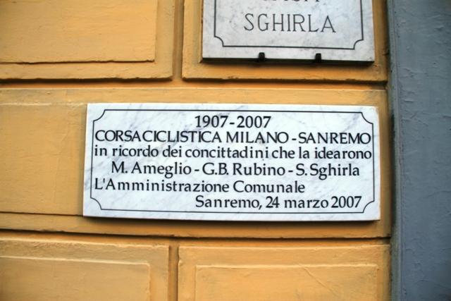la Milano Sanremo