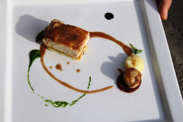 pollo arrosto marinato nella senape e limone