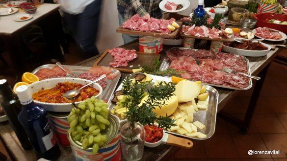 Il pranzo contadino alla Proloco Trastevere