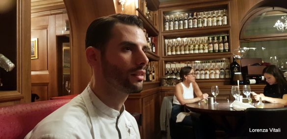 Tommaso Tonioni all'Enoteca Achilli