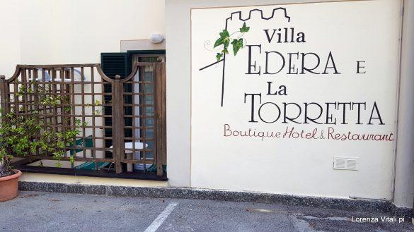 L'hotel Villa Edera e il suo Orto