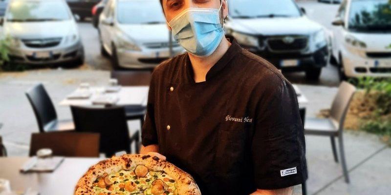 il pizzaiolo Giovanni Nesi