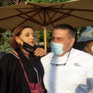 Lorenza con Simone Fracassi